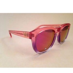 Wildfox Sunglasses Classic Fox Pink Purple Mirror